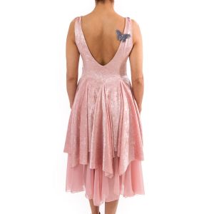 BELLE ROSE - Velvet/Chiffon Dress