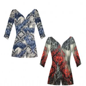 ASTRAL DUSK - French Viscose Unitard