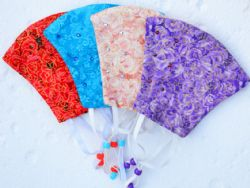 Reusable Face Masks With Swarovski Crystals